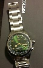 Seiko Alpinist SARB017 on Genuine Seiko Bracelet from Seiya Japan NWT