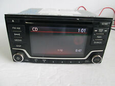 For Nissan Leaf Versa Sentra CD MP3 SiriusXM New stereo with blemishes