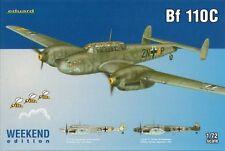 Eduard 1/72 Model Kit 7426 Messerschmitt Bf 110C Weekend Edition C