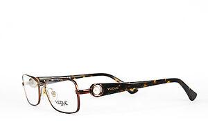 Vogue-Damen-Brillenfassung-VO-3809-H-811-51-16-135-Metall-gold-296-12