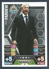 TOPPS MATCH ATTAX 2013-14- #432-MANAGERS-NEWCASTLE UNITED-ALAN PARDEW
