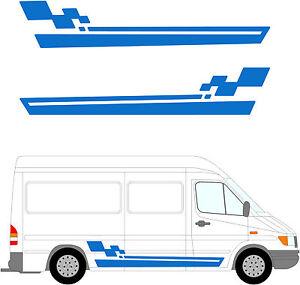 98 van am nag graphique camping car vinyle kit d coration autocollants ebay. Black Bedroom Furniture Sets. Home Design Ideas