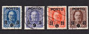 Austria Set of 4 Stamps c1917 Used (25)