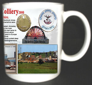 BENTINCK-COLLIERY-COAL-MINE-MUG-LIMITED-EDITION-GIFT-MINERS-NOTTINGHAMSHIRE-PIT