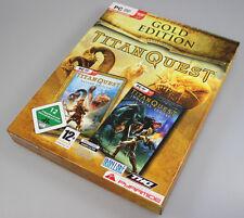 Titan Quest+Immortal Throne = Gold Edition Bigbox PC CD-ROM Version