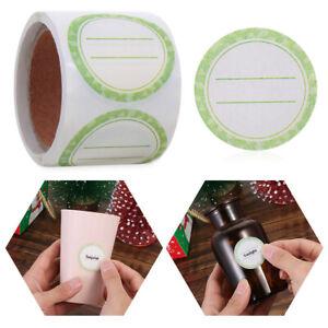 125x Leere Weiße Lebensmittel Lagerung Etiketten Gefrierschrank Kühlschrank