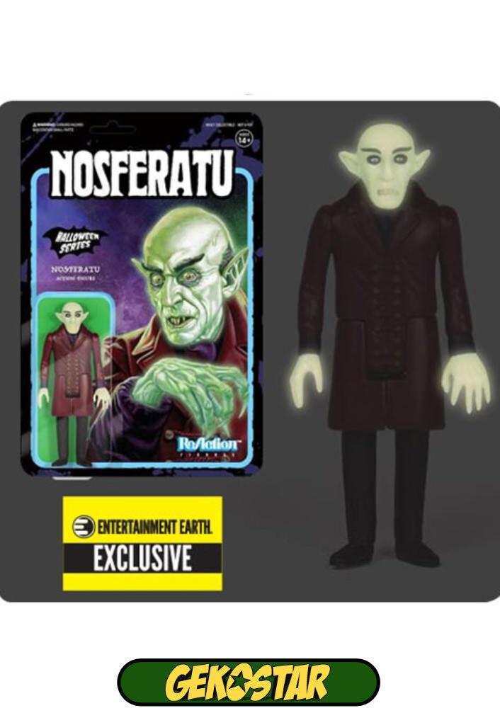 Nosferatu Glow in the Dark ReAction Action Figure (NOT MINT)