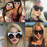Cat Eye Oversized Fashion Style Women Sunglasses Gradient Lens Oval Frame US