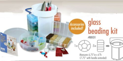 Bead Caddy Portable Beading Kit Includes Beads And Tools