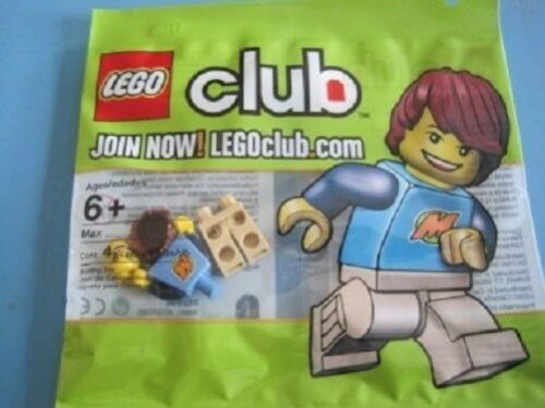 Lego Club Max Minifigure Polybag Set 852996 NEW Factory Sealed