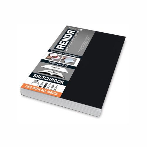 Rendr No Show Taped Sketchbook 3.5X5.5