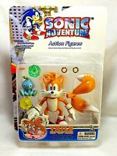"Toy Island SEGA Sonic Hedgehog Adventure Tails Miles Prower 5"" Action Figure MIP"