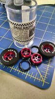 Pro Track N402i Red Pro Stars 1 3/16 X 300 Rear & Front Drag Tires Mid America