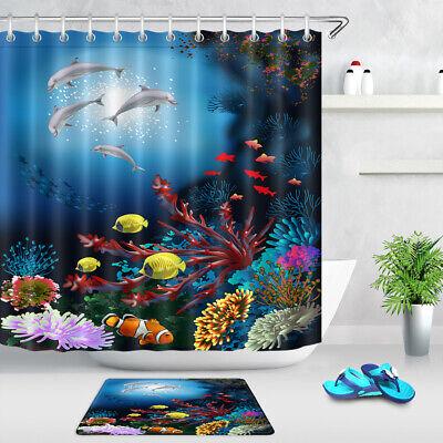 Shower Bathtub Accessories, Fish Bathroom Set
