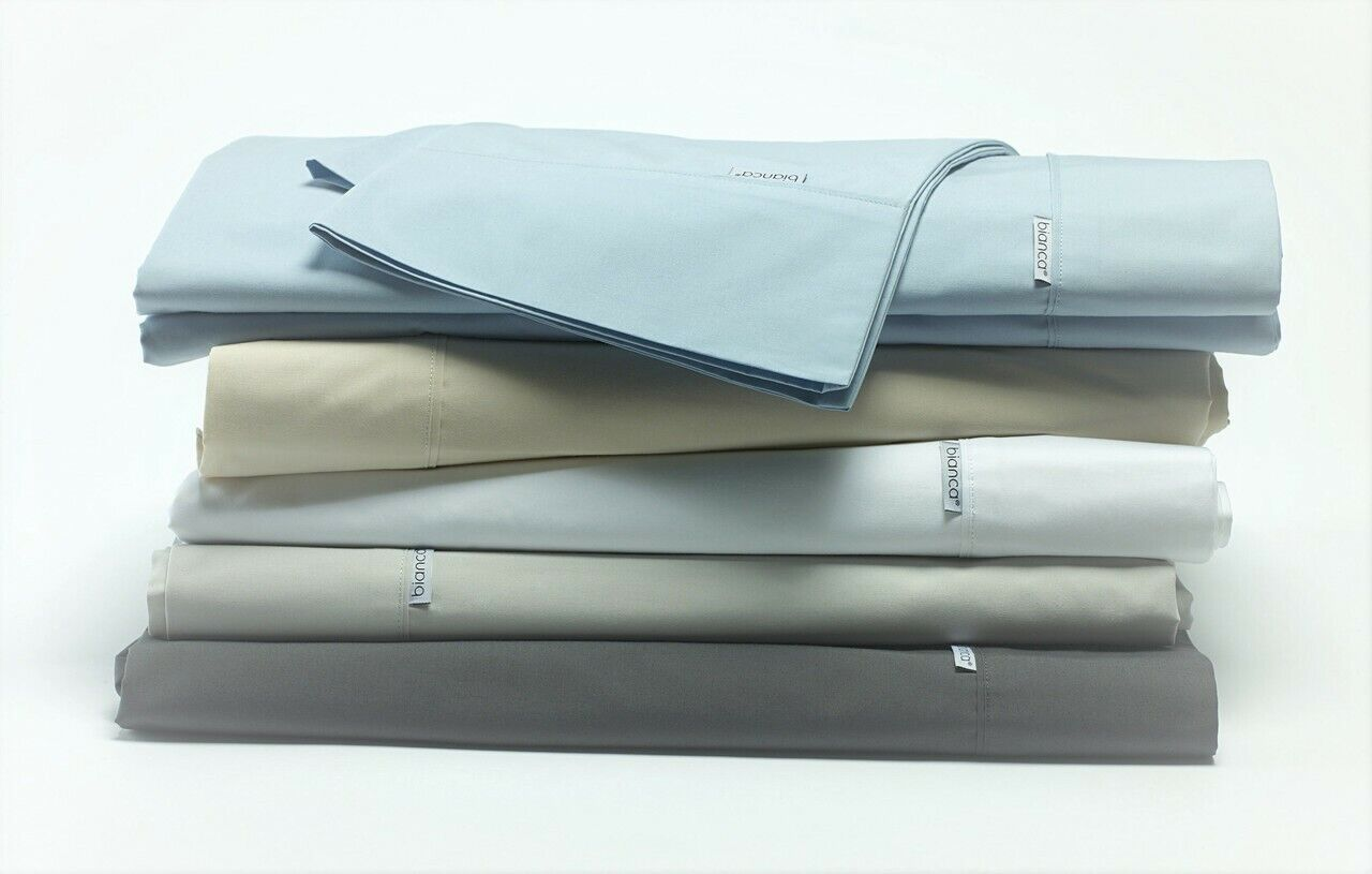 Heston 300 Thread Count Cotton Percale Sheet Sets