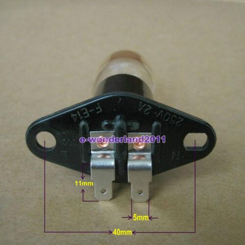fours Spares Four micro-ondes Ampoule Support Ampoule 230 V 25 W 2 A pour de nombreuses marques