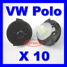 VW POLO DOOR CARD PANEL TRIM CLIPS INTERIOR PLASTIC CLIPS 6N type 6N1 6N2