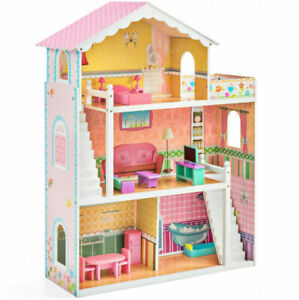 1//12 Wooden Doll house Miniature Books 6 pcs colorful L0C0 Gift Supply New N7Q0