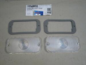 1966 thru 1977 Ford bronco parking lamp lenses