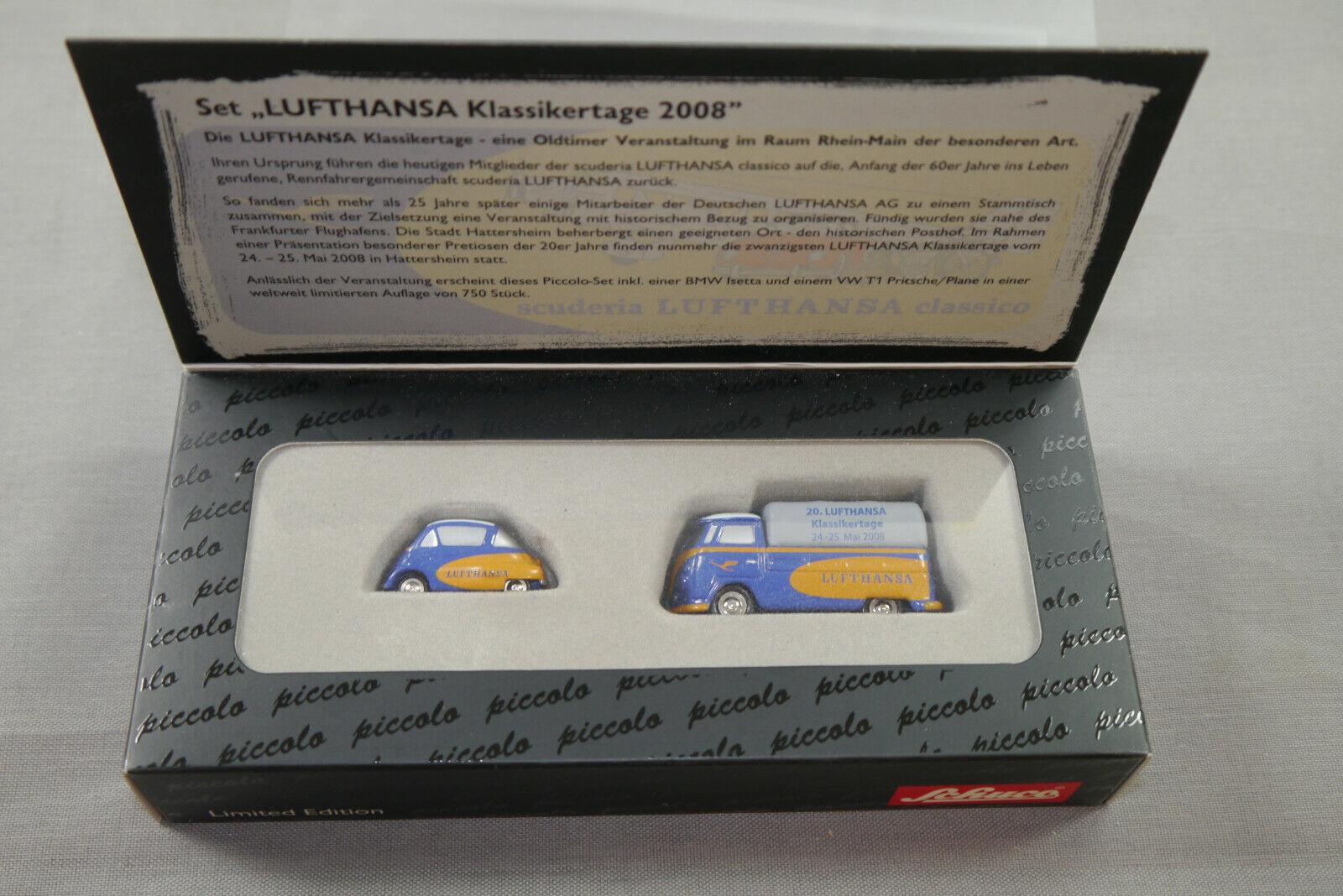 Schuco PICCOLO Lufthansa classeico giorni 2008 modellololo di auto limita 1 90 k55