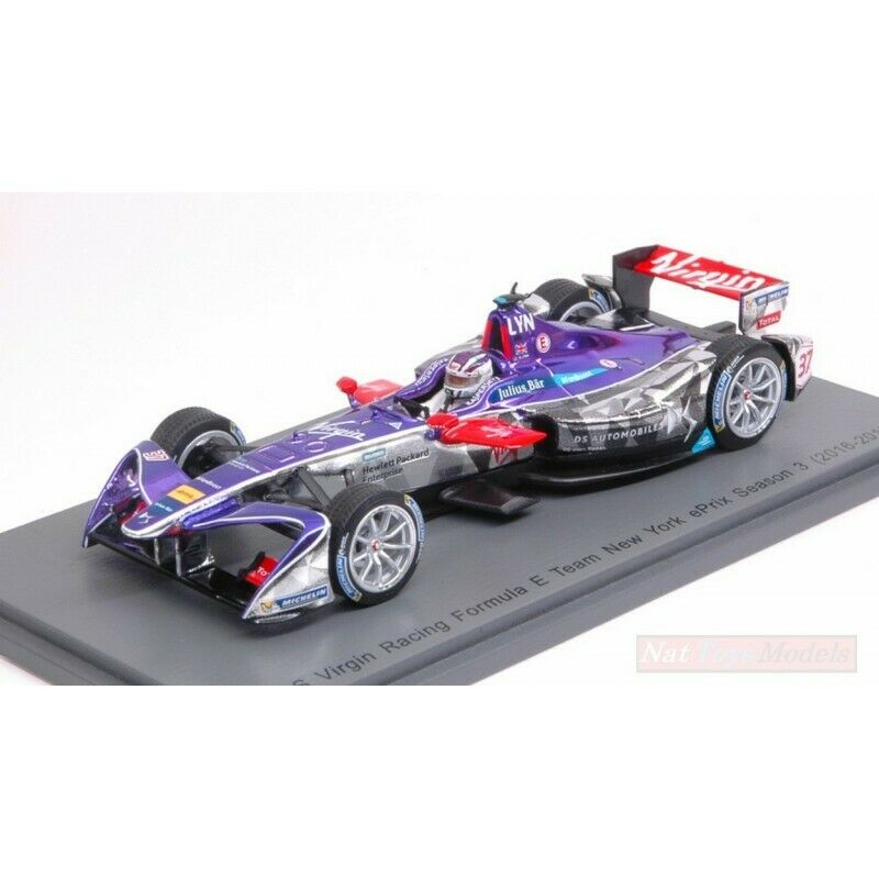 SPARK Modell S5911 DS VIRGIN RACING A.LYNN 2017 N.37 Rd9 NEW YORK Formel und 1