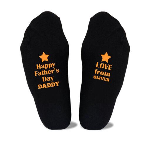 Personnalisé Homme Dads Père/'s Jour Cadeau Chaussettes Cadeau Tailles 6-11,10-13 Big Foot