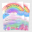 20-Rainbow-Baby-Shower-Invitations-Sprinkle-Invite-Birthday-Rainbow-Invitation thumbnail 1