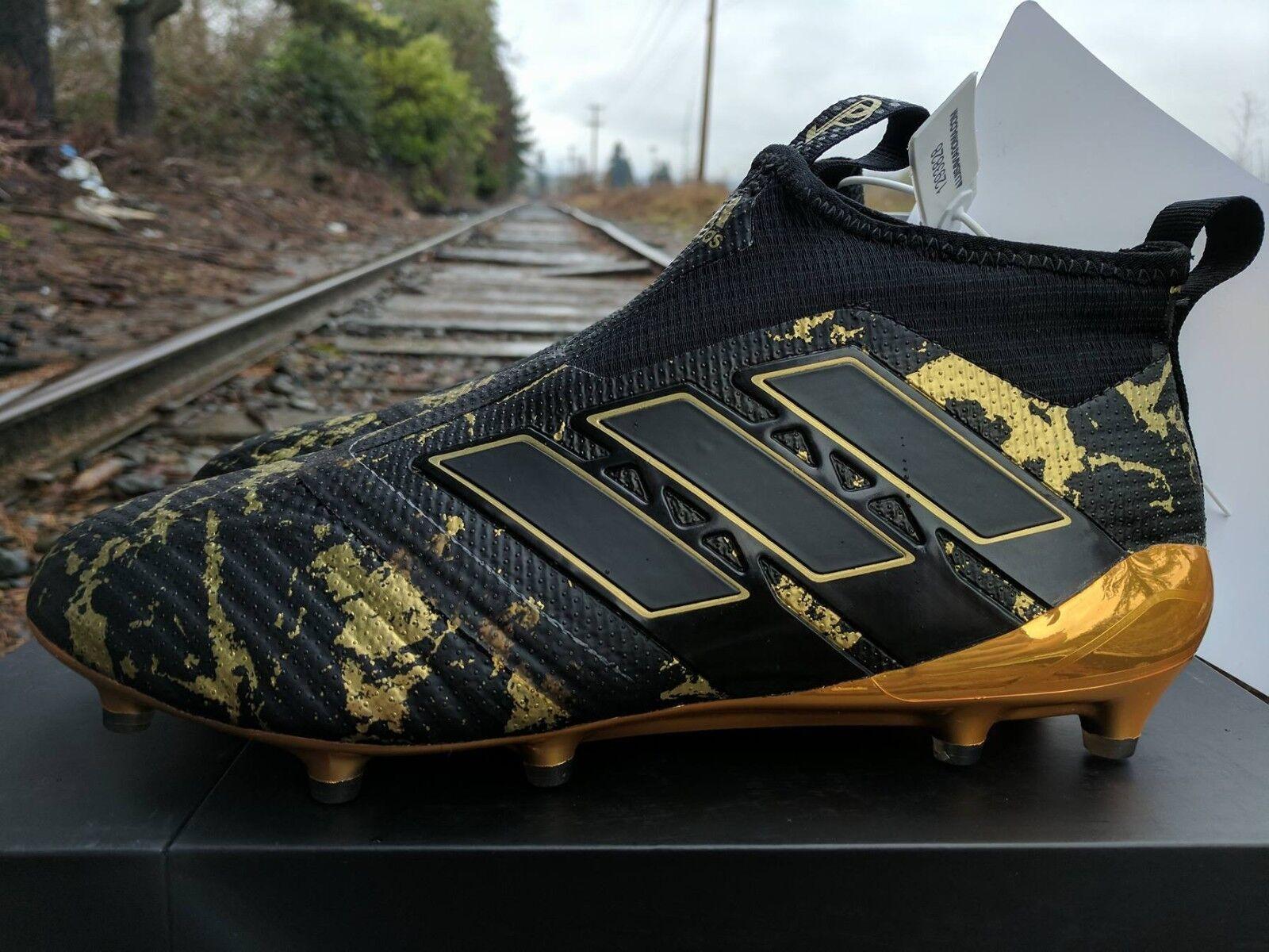 Adidas matt pogba pp ace 17 + purecontrol boden stollen matt Adidas - schwarzen gold by9143 c19321