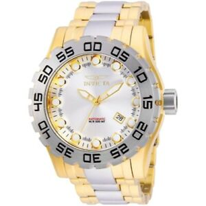Invicta-25092-52mm-Leviathan-Automatic-Stainless-Steel-Bracelet-Men-039-s-Watch