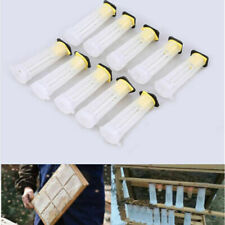 10pcs Plastic Queen Bee Cages Isolator Rearing Beekeeper Beekeeping To N ji