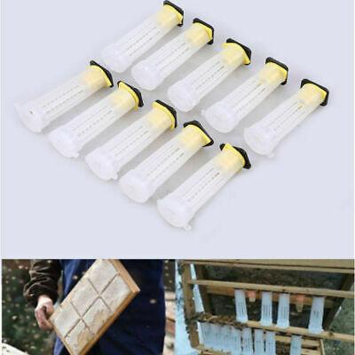 Queen Bee Rearing Cup Roller Cages Beekeeper Tools Plastic Industrial Practical