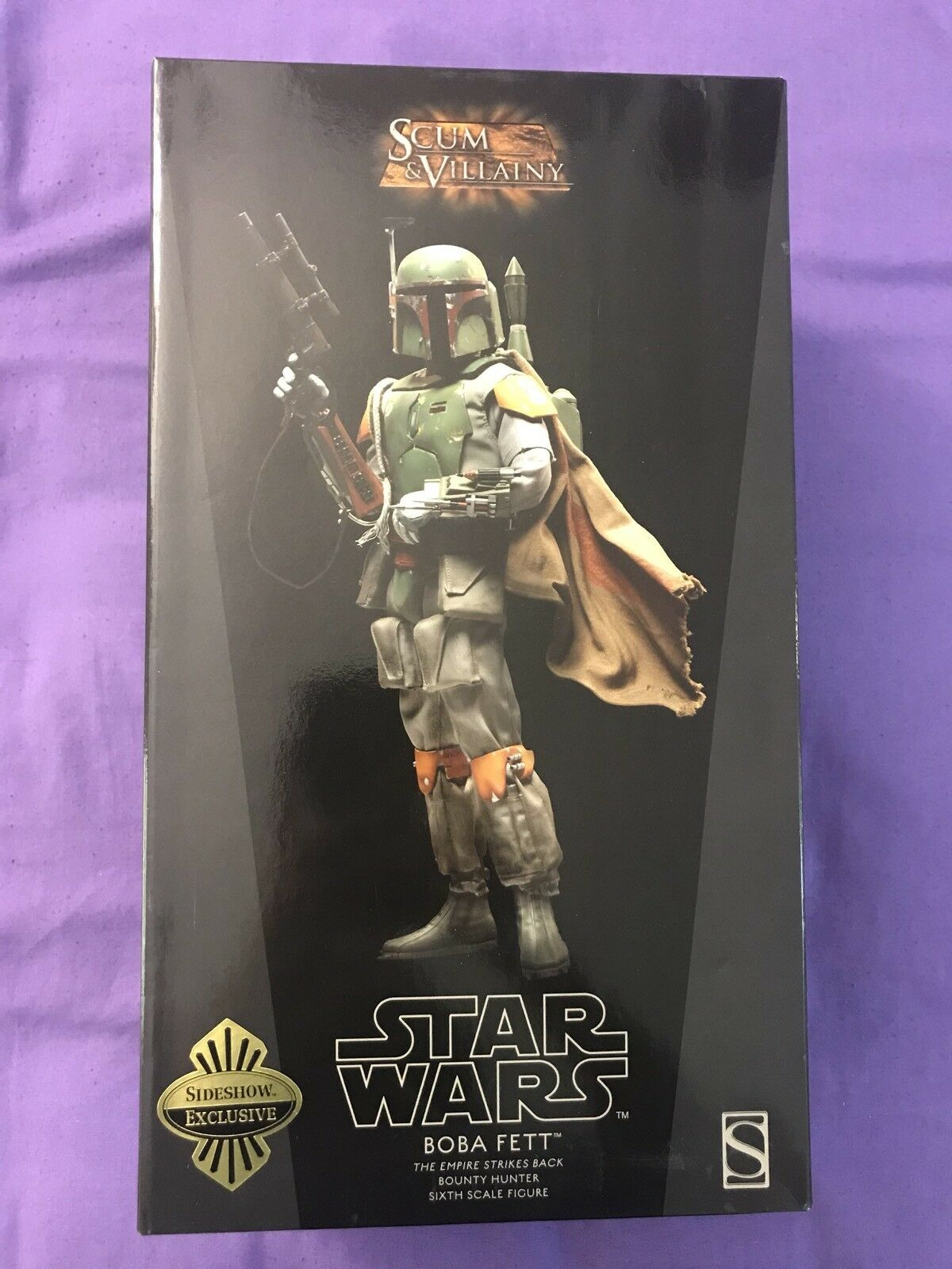 Star Wars Sideshow Collectibles Boba Fett Exclusivo 16