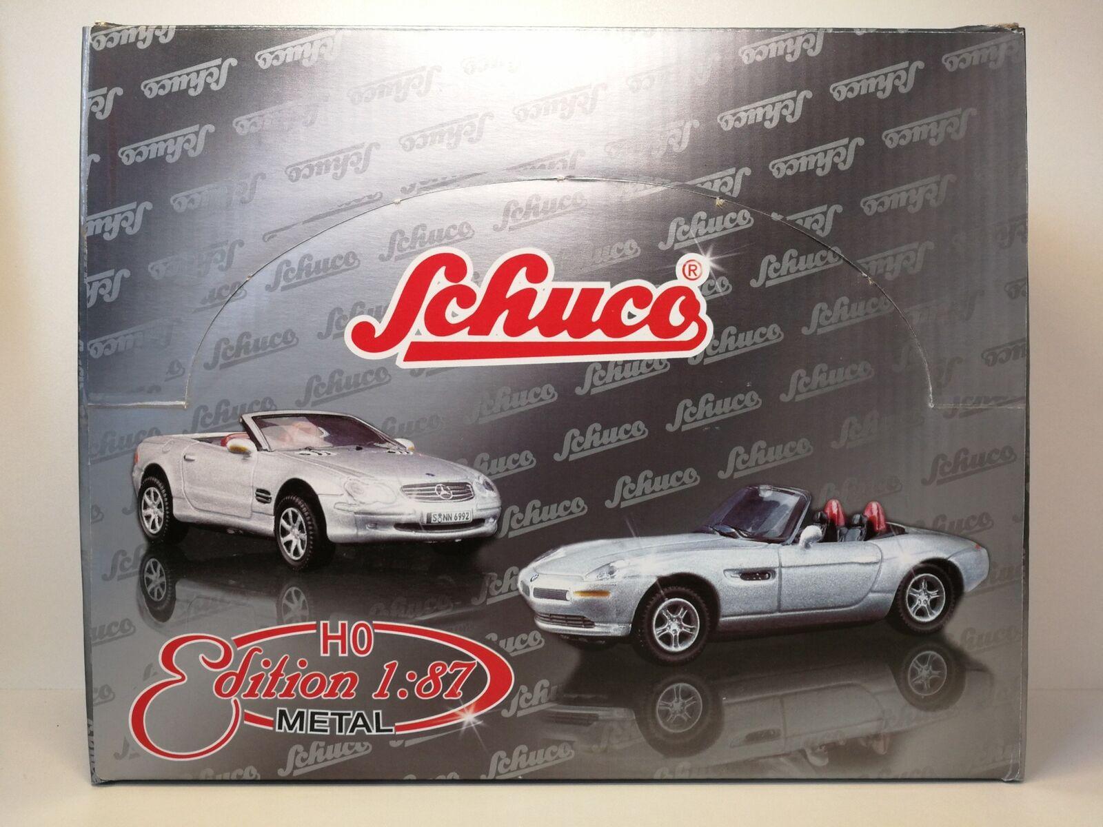 Schuco 24x Métal Modèles m1 87 compl. h0 edition blister NEUF dans sa boîte
