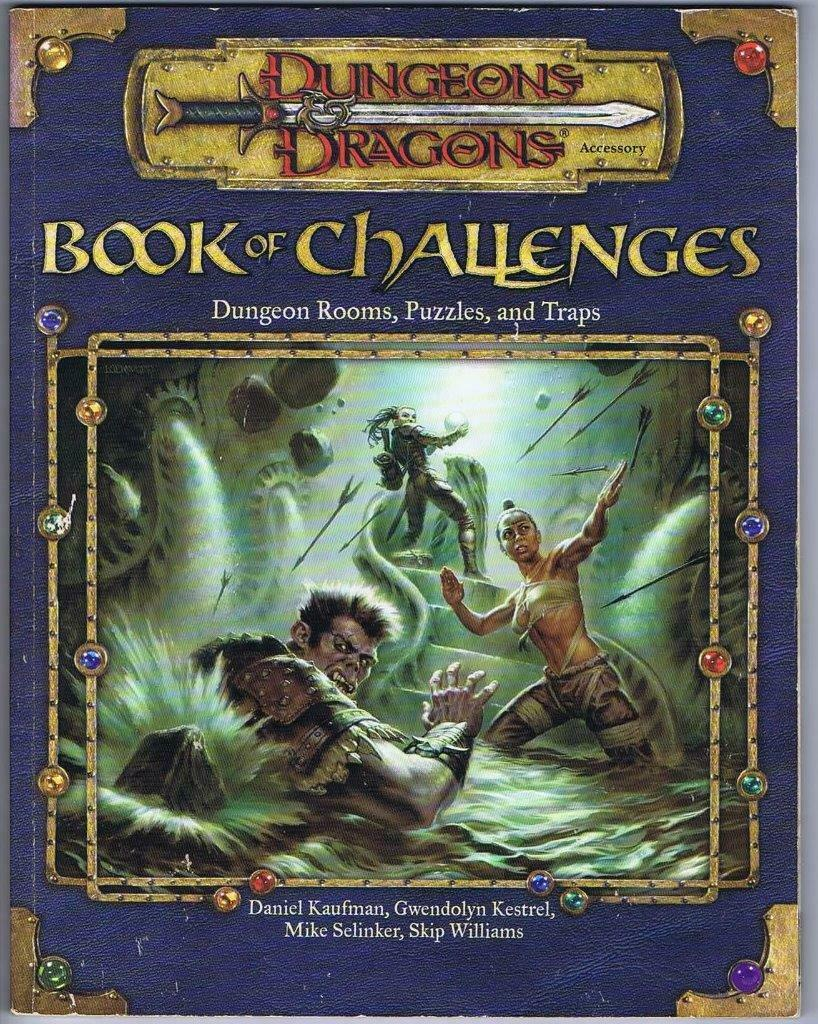 Book of Challenges (Dungeons Dragons 3.0 D&D Sourcebook d20 WoTC)