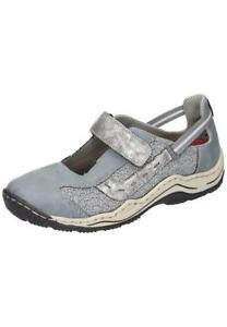 Rieker-Halbschuhe-Ballerinas-Sneaker-Damenschuhe-blau-36-42-L0578-12-Neu29