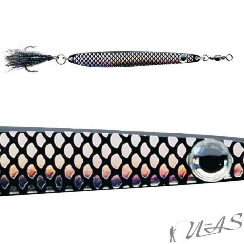 DAM FZ Meerforellen Blinker Dressed Seatrout SchwaRZ Silber 28G 5061-028 Kva