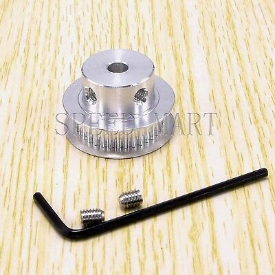 GT2 Aluminum Timing Belt Pulleys 12mm Bore 40T RepRap Prusa Mendel 3D Printer