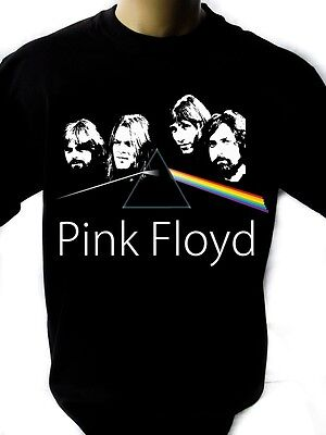 PINK FLOYD BAND Black New T-shirt Rock T-shirt Rock Band Shirt
