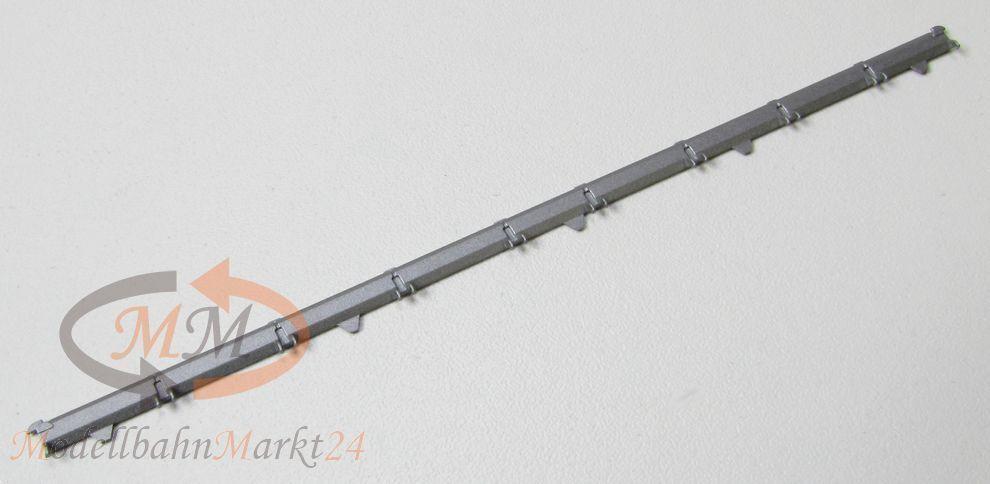 10 x ALU-murata ad esempio per Fleischmann Carro piatto Lunghezza ca. 114 mm Spur N-NUOVO