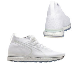 Puma-Jamming-evoknit-Homme-a-Lacets-Baskets-Chaussette-Style-Blanc-190629-06-D37