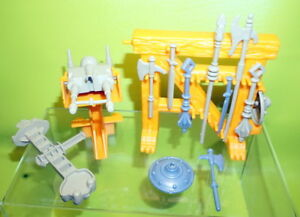 Details about Original Masters of the Universe Castle Grayskull Parts  Weapons MOTU Lot