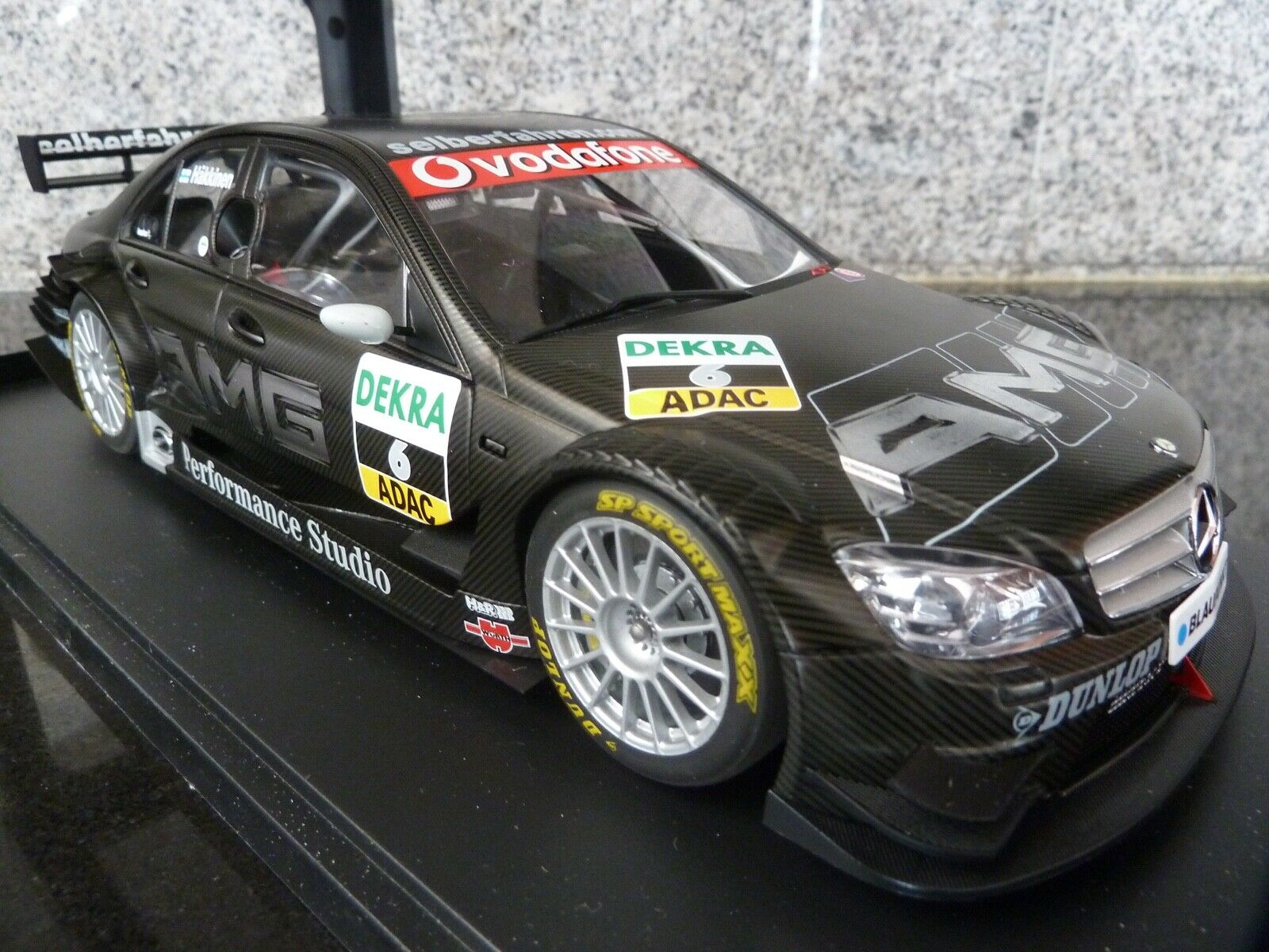 1 18 AutoArt, Mercedes C-Class V8 AMG, Hakkinen, DTM 2007