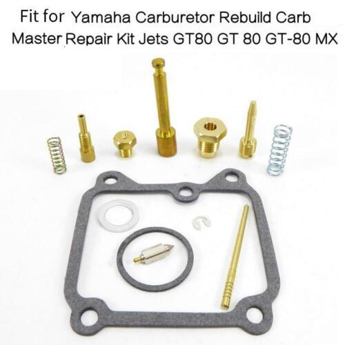 Fit Yamaha Carburetor Rebuild Carb Master Repair Kit Jets GT80 GT 80 GT-80 MX