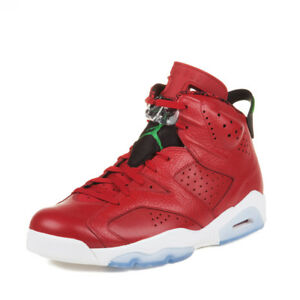 reputable site bcd3a 8282c ... white varsity red green bean new blue 325387 7cbc8 b7bdb  new arrivals  image is loading nike mens air jordan 6 retro spizike 034 621aa 36461