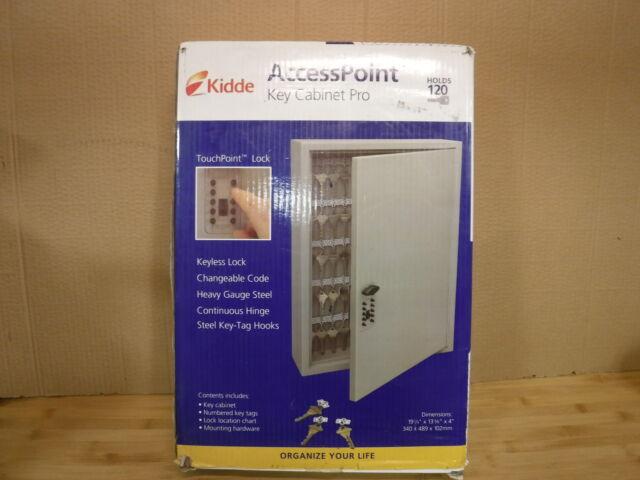 Kidde 001797 TouchPoint 120-Key Keysafe Push-Button ...