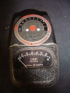Details about Old Vtg GE General Electric DW-68 Photographic Exposure Light  Meter With Case