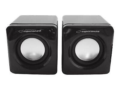 LEGGIERO EP111 PC højtalere - Sort