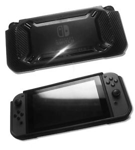 Nintendo-Switch-Rugged-Heavy-Duty-Rubberised-TPU-Protective-Bumper-Case-Black