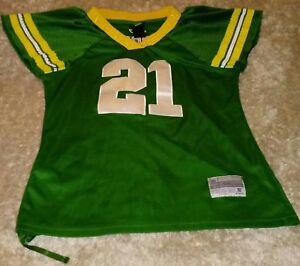 size 40 22931 eeb08 Details about Reebok Women's Charles Woodson Green Bay Packers Jersey Medium