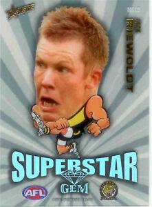 2011-Select-AFL-Champions-Mascot-Gem-Card-MG13-Jack-Riewoldt-Richmond